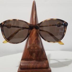 Versace Spotted Havana Sunglasses w/Case